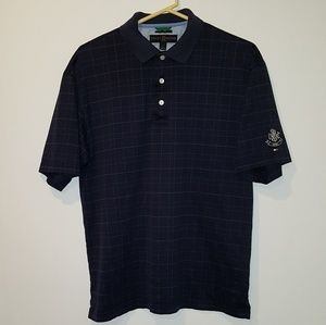 Tommy Hilfiger Mens Golf Shirt, Blue, Medium Polo